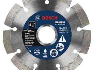 Bosch DB4565S 4-1/2-Inch Segmented Rim Diamond Blade for Soft Materials