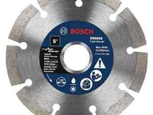 Bosch DB565S 5-Inch Segmented Rim Diamond Blade for Soft Materials