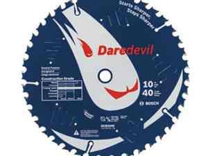 "Bosch DCB1040 - 10"" Daredevil™ 40 Tooth Circular Saw Blade"