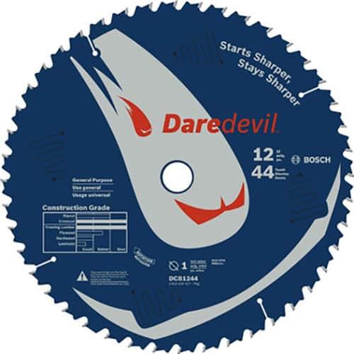 "Bosch DCB1244 - 12"" Daredevil™ 44 Tooth Circular Saw Blade"