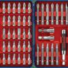 Bosch T4047L Multi-Size Screwdriver Bit Set 47 pieces