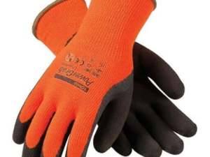PIP 41-1400 Hi-Vis Orange Terry Gloves, 12 Pair