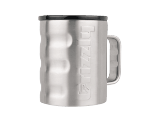 ..GRIZZLY GRIP CAMP CUP BRUSHED STAINLESS