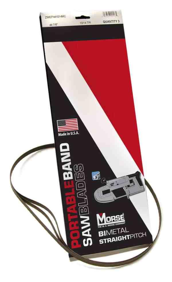 Morse 1/2X35 3/8   12/16   BI-METAL   PORTABAND  BLADES   (PKG)