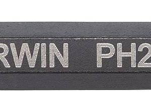 "#2 Phillips Power Bit x 2"" - 2 Pk"