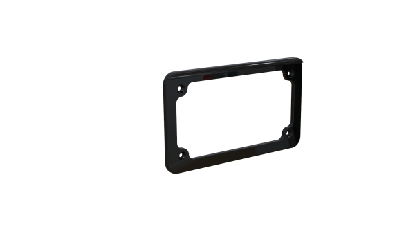 Motorcycle LED License Plate Frame