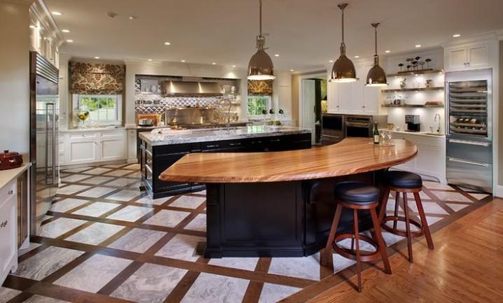 Modern Kitchen Island Dining Table Novocom Top