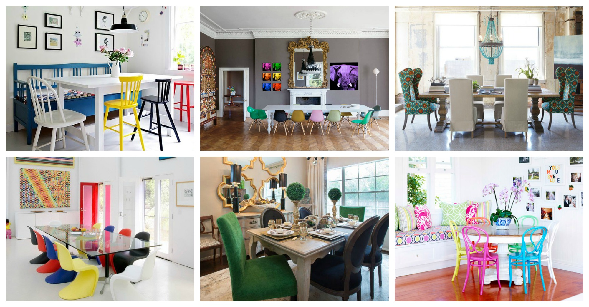 Mismatched Dining Chairs 15 Dining Rooms With Mismatched Dining Chairs You Need To See