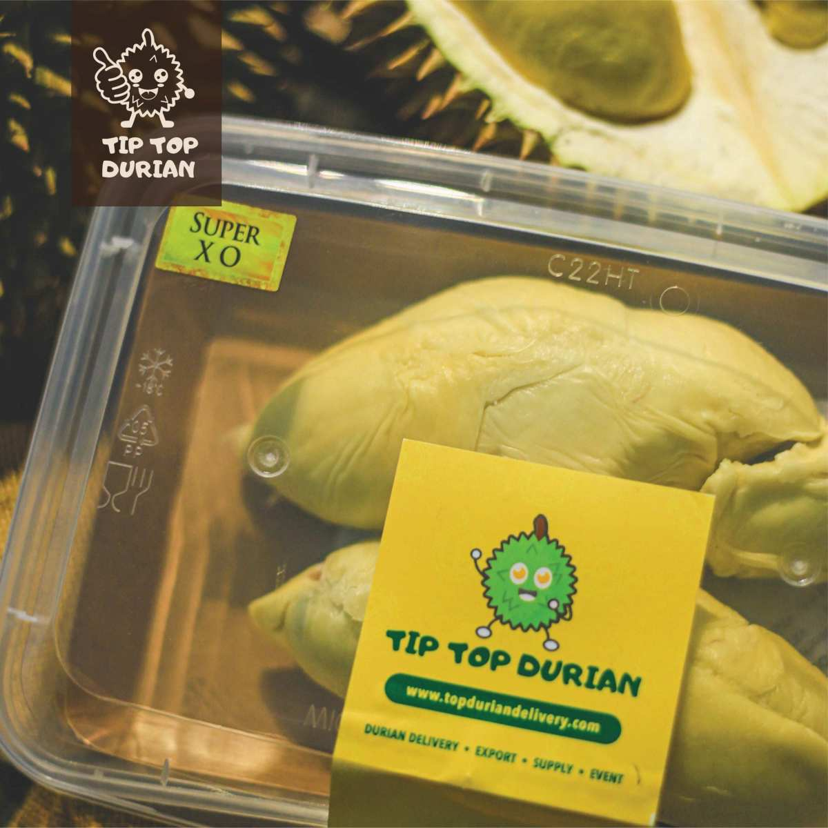 Super XO Premium In Packaging | Tip Top Durian Delivery | Malaysia Top Fresh Durian Online Delivery