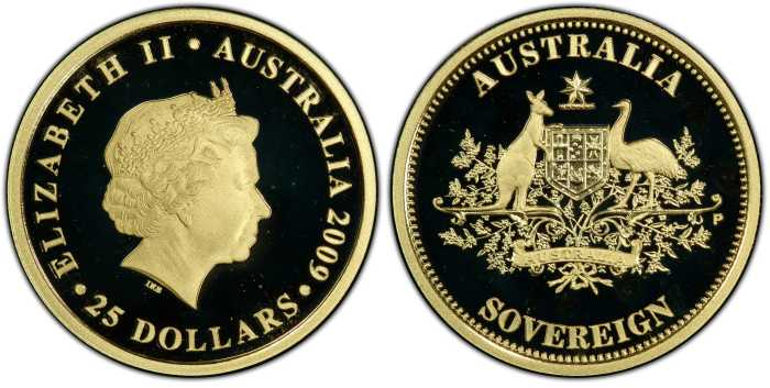 Australia 2009 Perth Mint Sovereign PCSG PR68