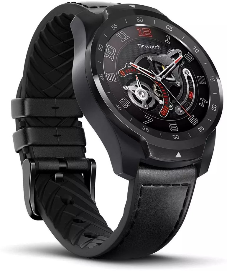 Ticwatch Pro, one of the best hybrid watches