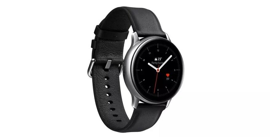 vista lateral Samsung Galaxy Watch Active2