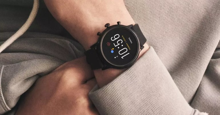 Using the Fossil Gen 5 smartwatch