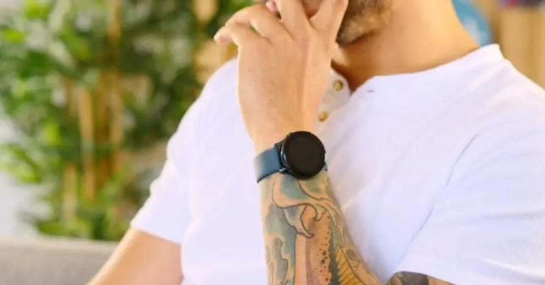 Jaume con Samsung Galaxy Watch Active 2