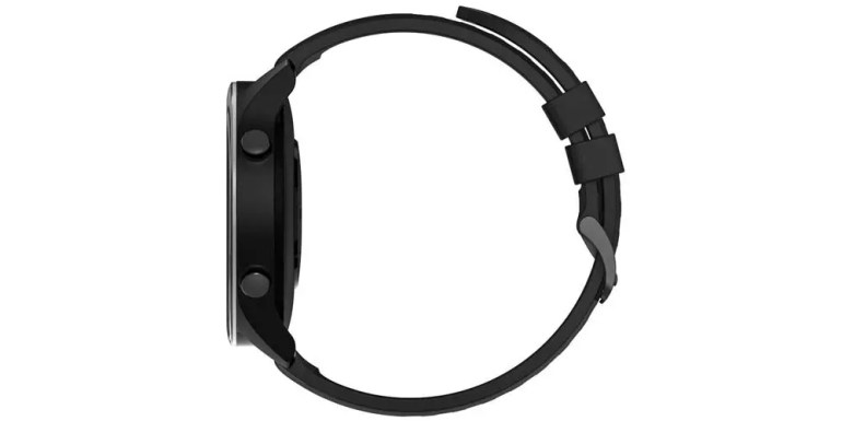 Lateral del smartwatch Xiaomi Mi Watch
