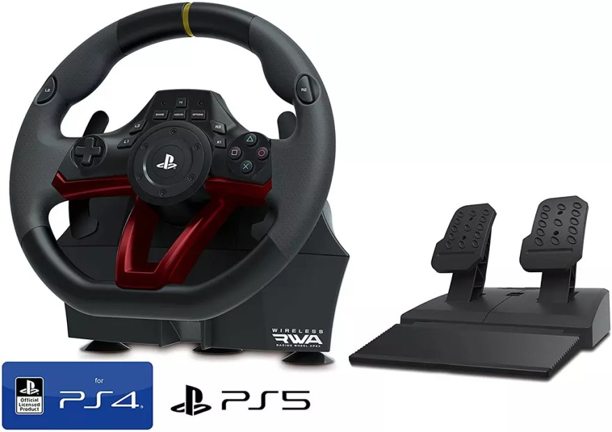 Official PS5 Steering Wheel and Pedals