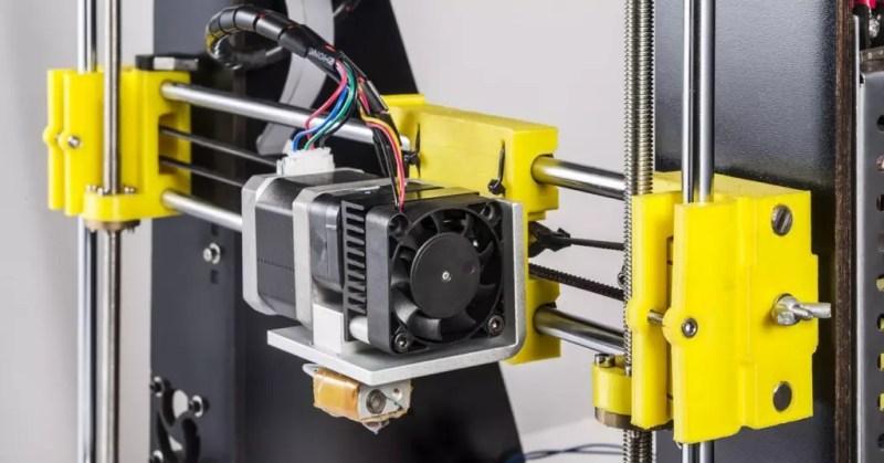 Meccanismo della stampante 3D
