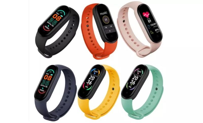 colori smartband m6