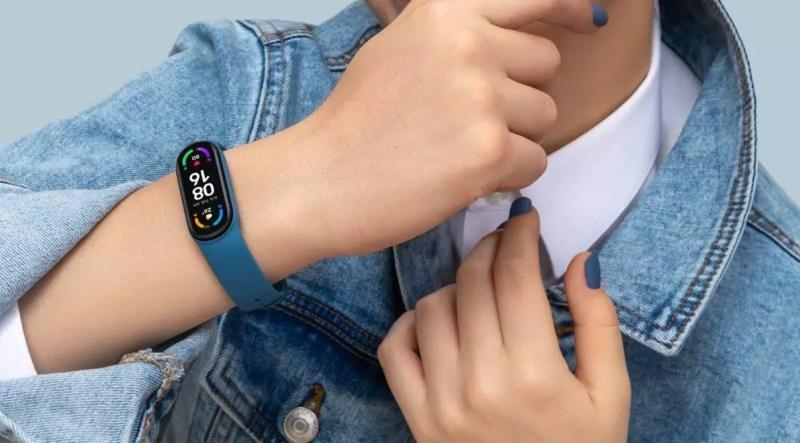 Xiaomi Smart Band 6 acceso