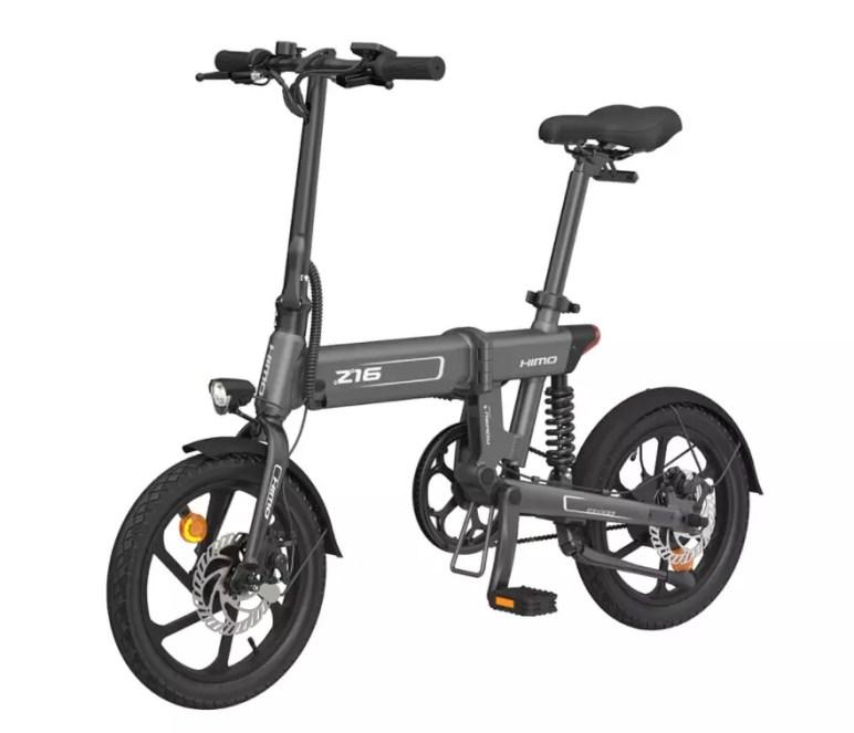bici elettrica himo z16 lato