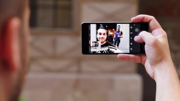 bq Aquaris X5 Plus selfie 2