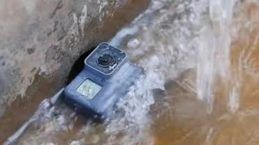 GoPro Hero 5 en agua