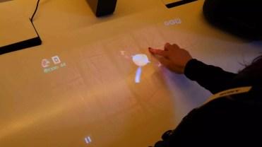 Manejo directo del Sony Xperia Touch