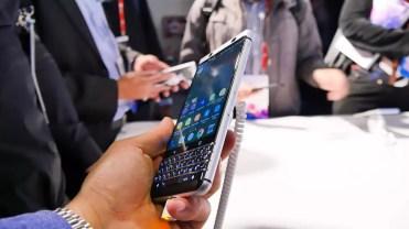 Lateral del BlackBerry KEYone