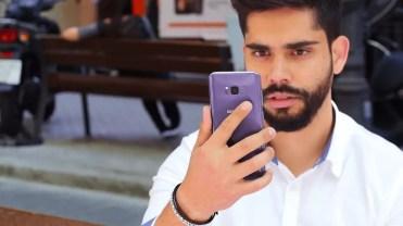 Uso lector de huellas en el Samsung Galaxy S8+