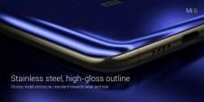 Esquina del Xiaomi Mi 6