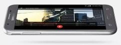 Lateral del teléfono Samsung Galaxy J3 2017