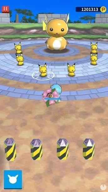 Acción en juego Pokéland