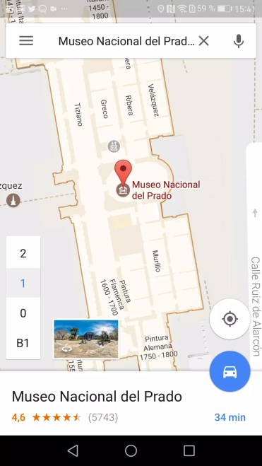 Mapa Google Maps