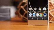 Marcos en el Sony Xperia XA1