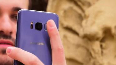 Lector de huellas Samsung Galaxy S8