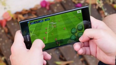 Jugando Sony Xperia XZ Premium