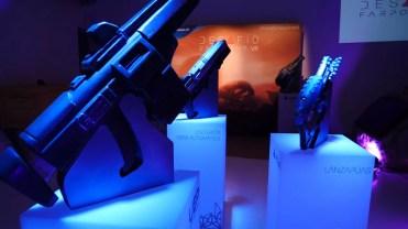 Armas del juego Fairpoint en evento Madrid