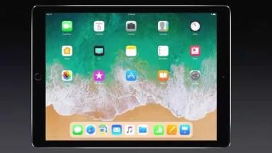 Dock en iPad Pro 10,5 WWDC con iOS 11