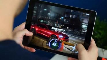 Ejecución de juego en el iPad 2017