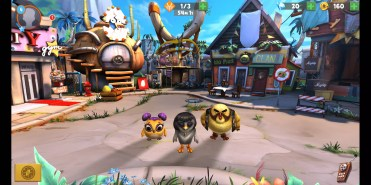 Gráfios 3D en Angry Birds Evolution