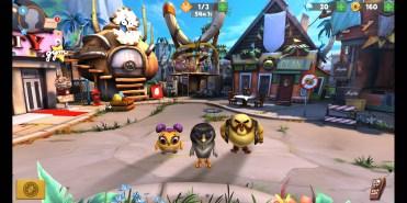 Gráfios 3D en Angry Birds Evolution