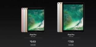 Precios nuevo iPad Pro de Apple