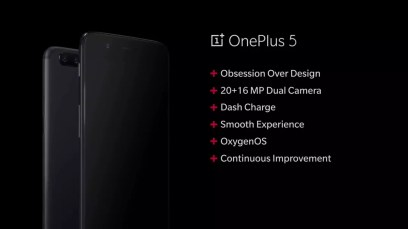 Resumen principal del OnePlus 5