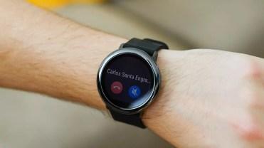 Llamada entrante notificación en Xiaomi Amazfit