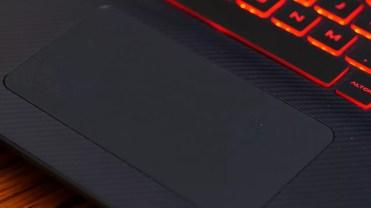 Touchpad del ordenador
