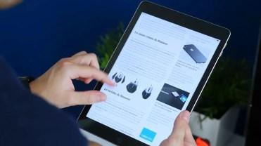 Manejo del tablet iPad 2017