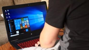 Windows 10 en el HP Omen
