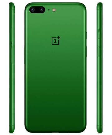 OnePlus 5 de color verde