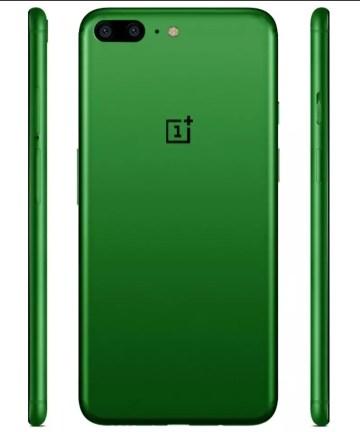 OnePlus 5 de color verde