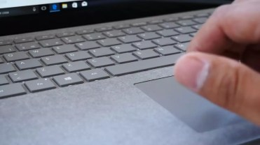 Touchpad del Microsoft Surface Laptop